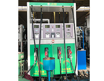 Graphics display advertising system for a fuel dispenser