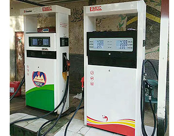 Gas Station Fuel Dispenser